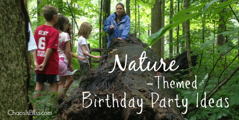 Have a child that loves the outdoors? Here are some fun party planning tips for a nature-themed birthday party.