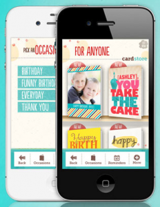 Send Greeting Cards From Your Phone With Cardstores FREE IPhone App