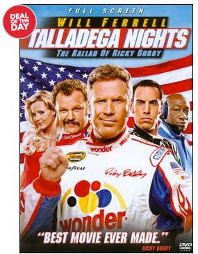 Talladega Nights $2.99 Shipped