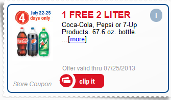meijer free 2 liter with mperks coupon code