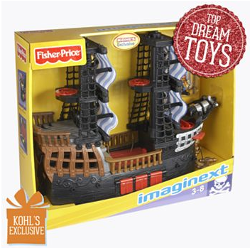 Imaginext Pirate Ship
