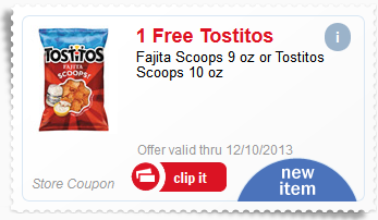 meijer free tostitos scoops after mperks coupon code