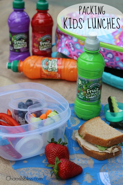 Packing Kids Lunches
