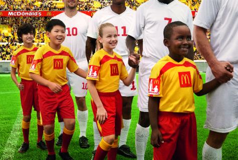 McDonald's Player Escort program