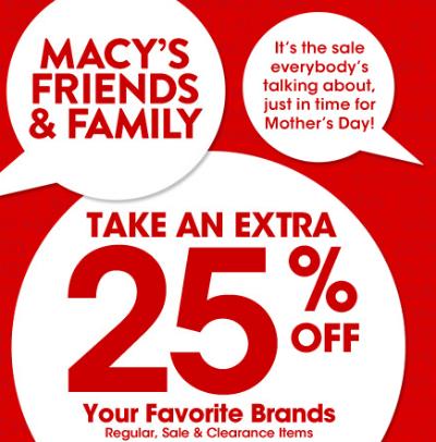 Macy's Friends & Family