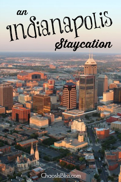 Indianapolis Staycation pinterest