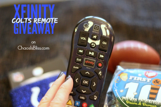 Indiana GIVEAWAY | Win an XFINITY Colts Remote Prize Package