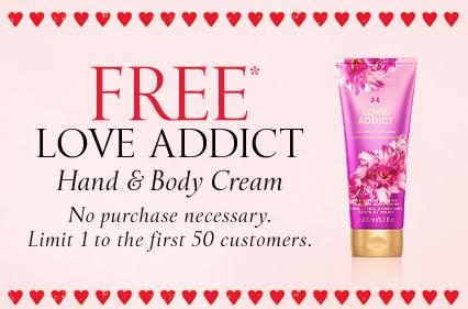 Victoria's Secret Valentine's Day freebie