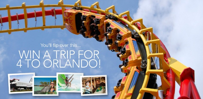 Win a trip for 4 to Orlando, FL courtesy of American Tourister!