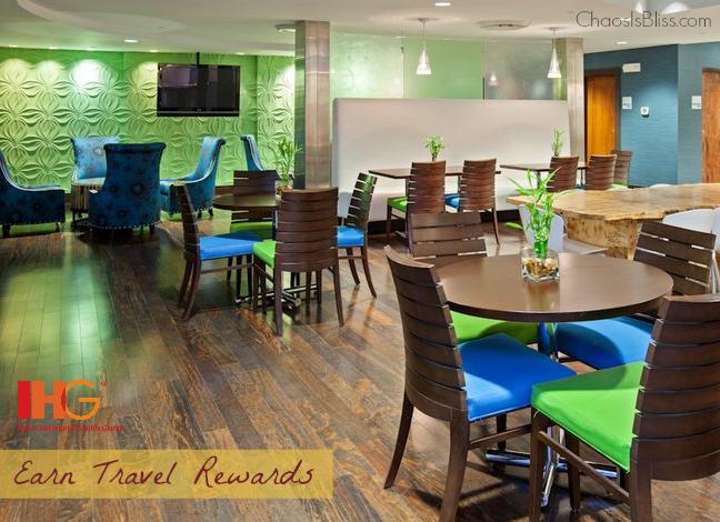 Earn free travel rewards with IHG Rewards Club.