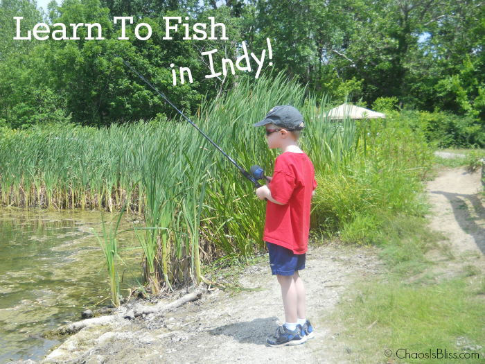 Learn to fish in Indy, for free!
