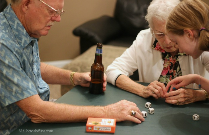 Make memories with a fun family game night! Easy tips to have a family game night, and including grandparents!