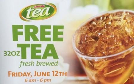 Speedway free tea