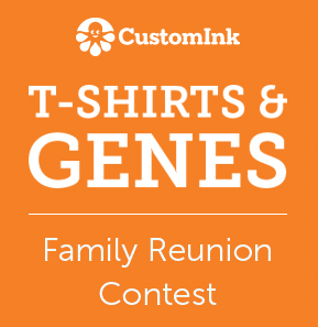 CustomInk T-shirts & Genes Family Reunion Contest