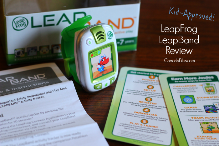 This LeapFrog LeapBand review may help parents know if this activity tracker for kids is worth it.