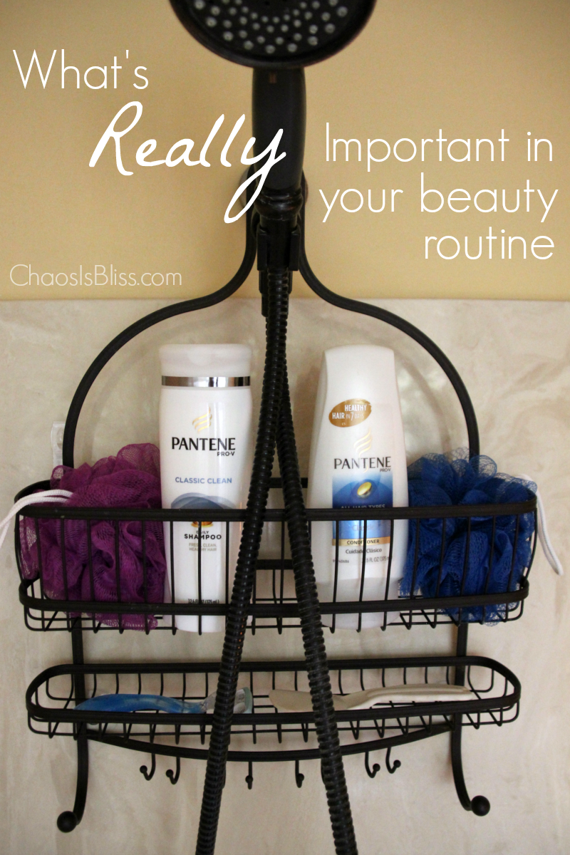 What's really important in your beauty routine?