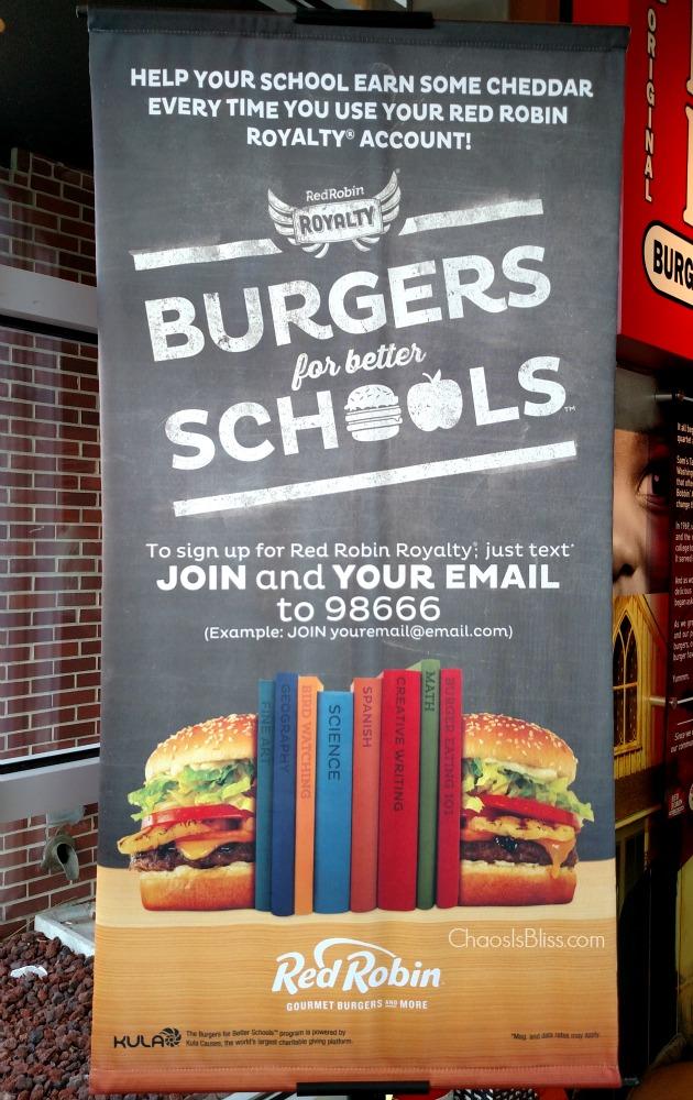 Burgers for Better Schools