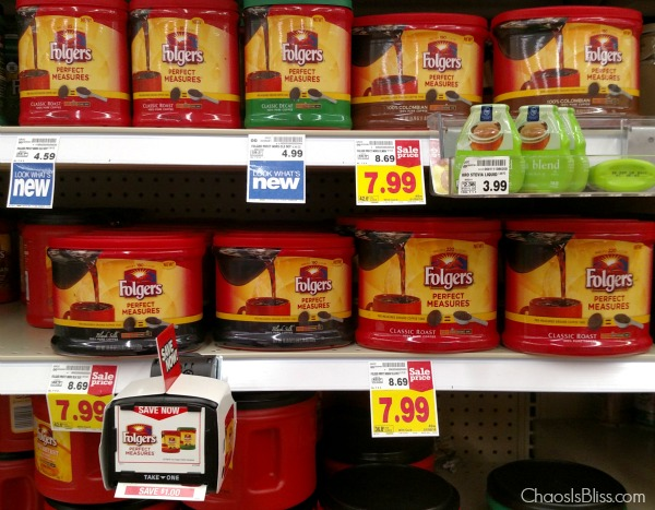Folgers Perfect Measures at Kroger