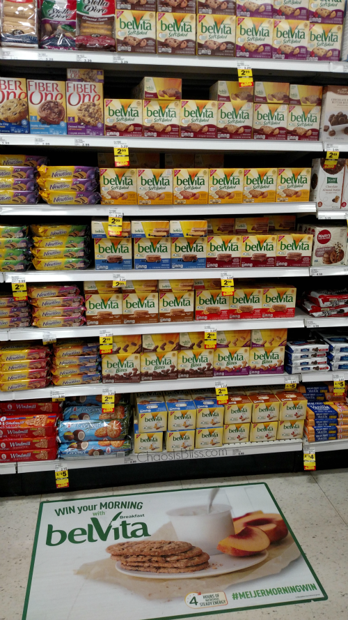 Belvita Breakfast Biscuits are available at Meijer.