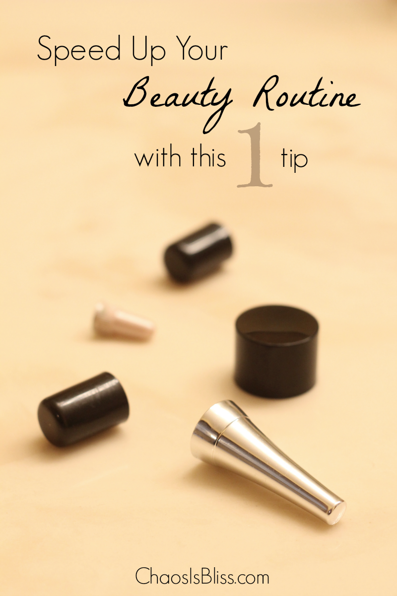 Learn this quick & easy timesaver tip I picked up on, that saves me time on my beauty routine!