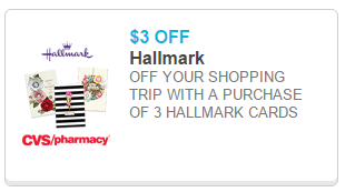 CVS Hallmark coupon