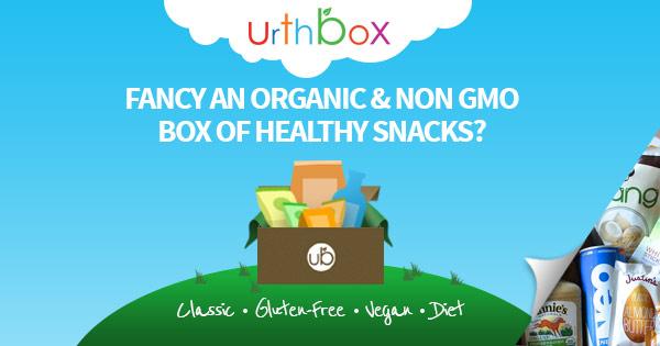 Urthbox healthy snacks